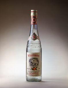 Eau-de-vie de poire William. Williamine - Morand. Memento #Linea