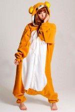 Rilakkuma kigurumi is a cute animal adult onesie designed based on the  popular japanese animation character. Rilakkuma kigurumi pajamas is made of  fleece 4d21ea143ab18
