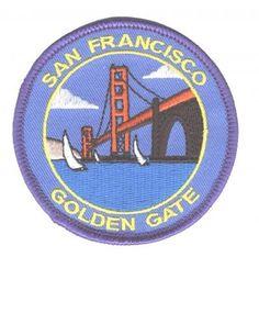 San Francisco Golden Gate Bridge Patch
