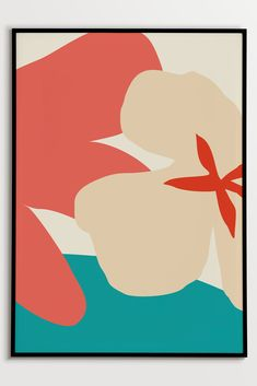 Abstract Floral Wall Art#fluorama#fluoramaposters#posters#prints#art#wallart#design#interiordesign#illustration