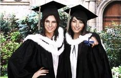 Sam and Lara graduation | Tomb Raider