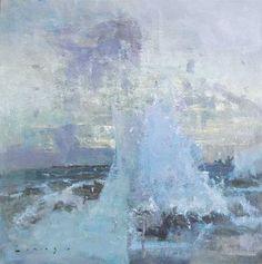 Breaking Wave Lyme Regis by Fred Cuming