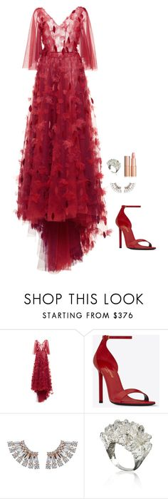 """Untitled #1114"" by h1234l on Polyvore featuring LUISA BECCARIA and Yves Saint Laurent"