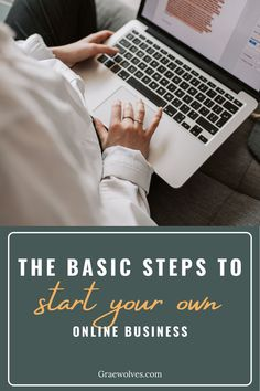 Circumstances will never be ideal to start your first business. So you might as well just start! Here's the steps you need to get started and go after your dreams as an entrepreneur Creative Business, Business Tips, Online Business, Entrepreneur, Product Launch