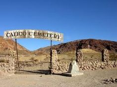 Calico Ghost Town In California We Saw This Off To The