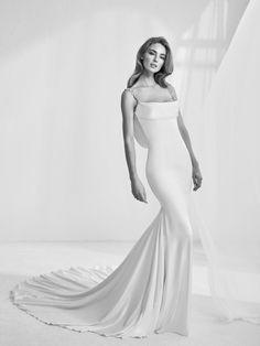 Vestido de novia escote balconette - Rama