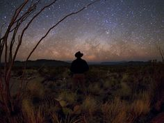 The Stars At Night Are Big and Bright Deep In The Heart of Texas. Big Bend National Park