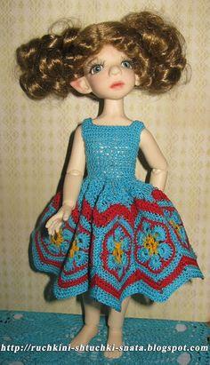 Ручкины штучки от SNata: Платье Африканский цветок для Корички