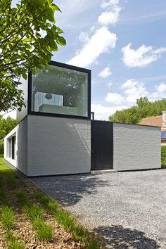 Villa SANUK | beervelde - Projects - CAAN Architecten / Gent