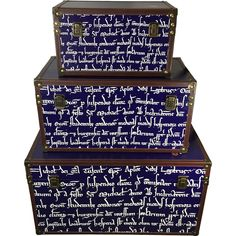 University of Oxford Papal Legate Storage Trunk Set #oxford #university #homedecor #storage  sc 1 st  Pinterest & 13 best Funky Storage Trunks for the Home images on Pinterest ...