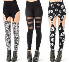 LEGGINGS - Be the first to rock our new edgy leggings.