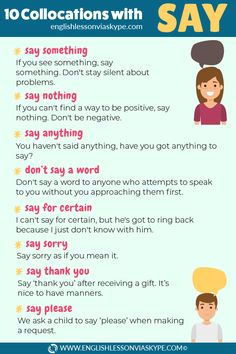 10 English Collocations with Say ⬇️ - Learn English with Harry