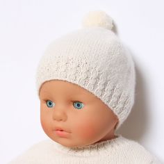Baby Hat / Knitting Pattern Instructions in English / PDF