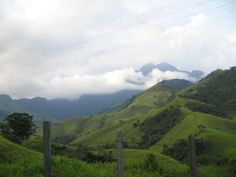Vista na estrada para o Pico das Prateleiras - Parque Nacional de Itatiaia - RJ - Entrada de Itamonte (Foto: Orlando MFN 2008)