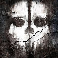 Image on Call of Duty Ghosts poster...diggin' it