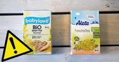#Öko-Test: Babytees mit Pestiziden und giftigen Pflanzenstoffen belastet - Utopia News: Utopia News Öko-Test: Babytees mit Pestiziden und…