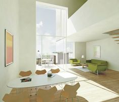 Gallery of Sustainable Town Houses / C.F.Møller Architects - 9