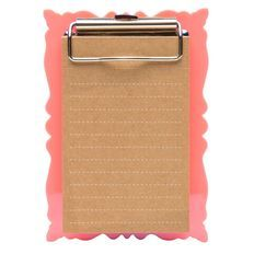 Banter VOID Magnetic Clipboard Neon Peach