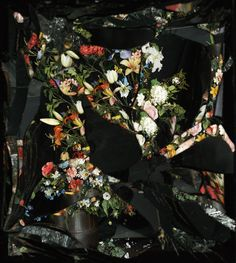 Exploding Flowers Reflected in Broken Mirrors