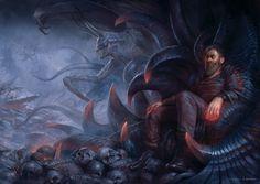 The Cursed Throne by yigitkoroglu.deviantart.com on @DeviantArt