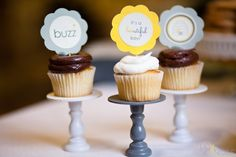 Mini cupcake stands $5 on etsy