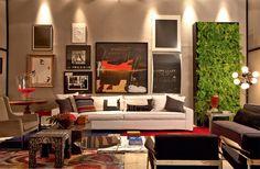 Living - Paola Ribeiro, designer de interiores, Casa Cor SP 2013