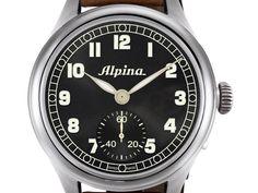 Alpina Heritage Pilot Handaufzug AL-435B4SH6