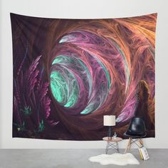 Tapestry Wall Hanging Original Manafold Visionary by InnerThigh