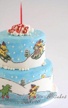 Spot's Magical Christmas Cake