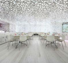 Beijing Zen interior restaurant design