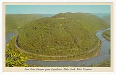 Postcards - United States # 41 - Grandview State Park, West Virginia