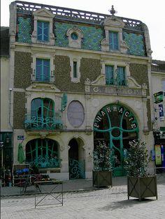 Art Nouveu Pharmacy, France