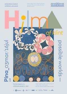 Hilma af Klint – Marcelo Ribeiro Graphic Design Layouts, Graphic Design Posters, Graphic Design Typography, Graphic Design Illustration, Graphic Design Inspiration, Layout Design, Graphic Art, Branding Design, Book Design