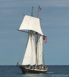 A schooner /ˈskuːnər/ is a type of sailing vessel with fore-and-aft sails on two or more masts, the foremast being no taller than the rear mast(s). Such vessels were first used by the Dutch in the 16th or 17th century. Originally schooners were gaff-rigged, but modern schooners may be Bermuda-rigged. Schooners were further developed in North America from the early 18th century, and came into extensive use in New England.