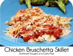 Chicken Bruschetta Skillet