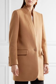 Stella McCartney - Bryce Melton Wool-blend Coat - Tan - IT