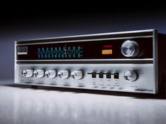 The Fisher 201 Futura Stereo Receiver