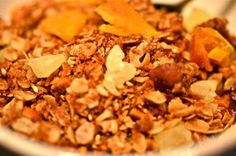 Tropical Granola - includes macadamia nuts, sesame seeds, dried mango & pineapple