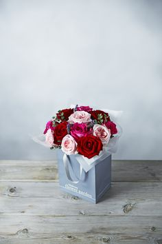 A gorgeous collection of wonderfully scented roses, hand-tied with fragrant foliage and presented in a gift bag. All the flowers in this bouquet are grown on Kenyan farms where the Waitrose Foundation funds projects to help give farm workers and their families a better future: http://www.waitrosedirect.com/product/scented-roses-gift-bag/661796