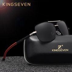 ddd3c5d75f8b KINGSEVEN Brand Designer Men s Aluminum Magnesium Sun Glasses Polarized  Mirror lens Male Eyewear Sunglasses For Men gafas