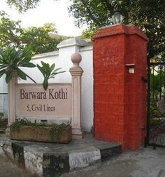 Barwara Kothi is a colonial villa built in the early 20th century. The 'kothi' used to be the residence of the Barwara Royal Family in Jaipur. The kothi was constructed by a World War II veteran and an accomplished polo player, Raja Man Singh.