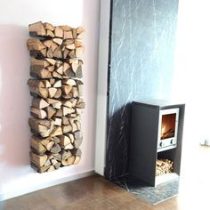 Find out all of the information about the RADIUS DESIGN product: log holder WOODEN TREE WALL BIG. Indoor Firewood Rack, Firewood Storage, Wall Shelving Units, Wood Shelves, Range Buche, Objet Deco Design, Home Decoracion, Wooden Tree, Fireplace Accessories