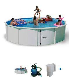 Hola amigos aún estáis a tiempo de conseguir vuestra piscina desmontable esta temporada. La Piscina Toi Magnun compacta es un modelo de 132 cm de altura ofreciéndonos los mismos componentes que la serie Magnun, la diferencia es el filtro de arena que en todas sus medidas es de 3,6m3/h. ¡Consigue tu piscina económica ya!
