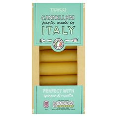 Tesco Cannelloni Pasta 250G - Groceries - Tesco Groceries
