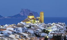 "Visit Altea. An Amazing Town near Benidorm…The name of Altea could come from the Greek Althaia, which means ""I cure"", or the Arabic word aṭṭaláya that gives place in Valencian to the word Talaia"