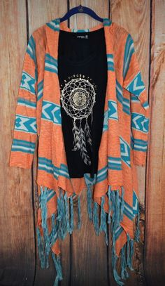 One of my favorite color combinations yetReally cute paired with this graphic tee Country Outfits, Western Outfits, Cowgirl Outfits, Western Wear, Fall Outfits, Cute Outfits, Cowgirl Dresses, Cowgirl Clothing, Gypsy Cowgirl