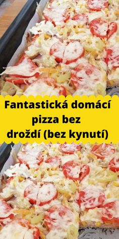 Pizza, Quiche, Potato Salad, Food And Drink, Potatoes, Keto, Chicken, Ethnic Recipes, Hampers