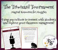Harry Potter Classroom, Goblet Of Fire, New Classroom, Teamwork, Problem Solving, Collaboration, Improve Yourself, Students, Challenges