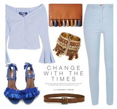 """""""Change With Time"""" by fattie-zara ❤ liked on Polyvore featuring River Island, Jacquemus, Rebecca Minkoff and Paige Denim"""
