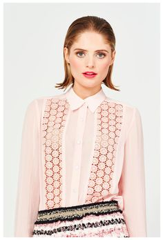 What to wear to the OFFICE: TRELISE COOPER'S BOARDROOM COLLECTION | ZsaZsa Bellagio - Like No Other Shirt Blouses, Shirts, Modern Fashion, Style Icons, Fashion Forward, What To Wear, Glamour, January 8, Model